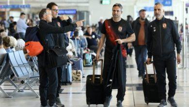Photo of فريق الأهلي يبدأ رحلة العودة إلى القاهرة