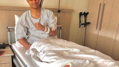 الأهلي يطمئن على سعد سمير بعد العملية