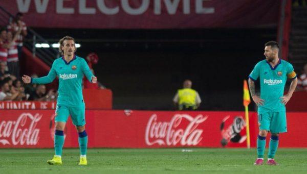 رابط ايجي ناو بث مباشر لمباراة برشلونة ضد غرناطة 19-01-2020