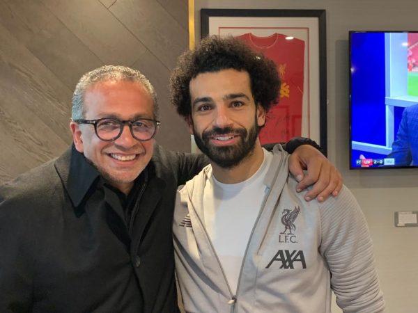 الجنايني اجتمع مع صلاح بعد فوز ليفربول الليلة