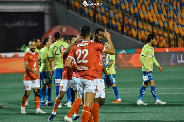 ملخص ونتيجة مباراة الاهلي ضد طنطا في الدوري
