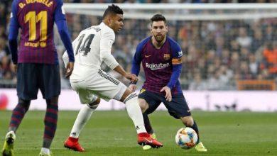 Photo of موعد مباراة ريال مدريد ضد برشلونة والقنوات الناقلة