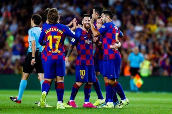 رابط ايجي ناو بث مباشر لمباراة برشلونة ونابولي 25-02-2020