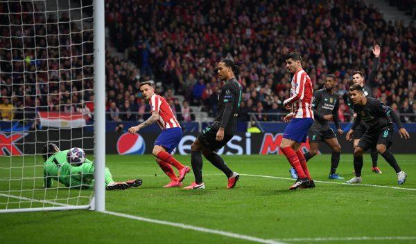 مخلص ونتيجة مباراة أتلتيكو مدريد ضد ليفربول