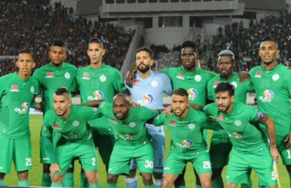 قائمة الرجاء المغربي ضد الإسماعيلي في كأس محمد السادس