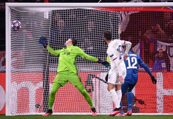 نتيجة وأهداف مباراة يوفنتوس ضد ليون في دوري أبطال أوروبا
