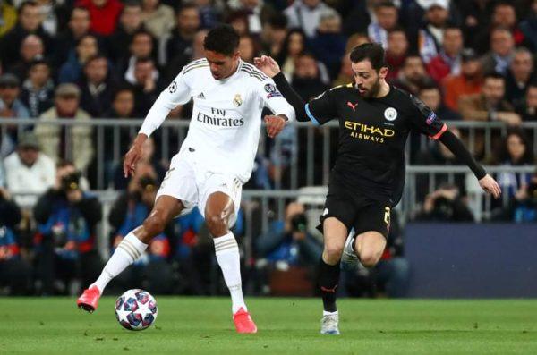 ملخص ونتيجة مباراة ريال مدريد ضد مانشستر سيتي في دوري أبطال أوروبا