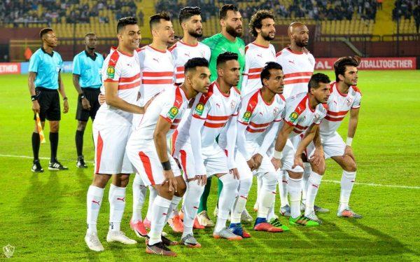 نتائج الزمالك في الدوري المصري موسم 2020