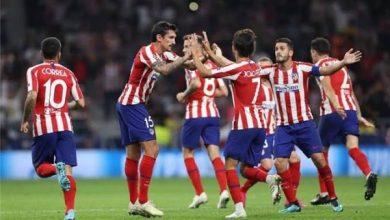 ملخص ونتيجة مباراة أتلتيكو مدريد ضد إشبيلية في الدوري الإسباني