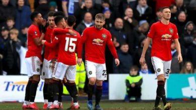 Photo of تشكيل مباراة مانشستر يونايتد ضد ديربي كاونتي في كأس الإتحاد الإنجليزي