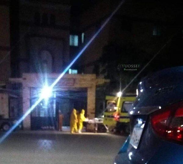 صور: أول حالة فيروس كورونا في بورسعيد