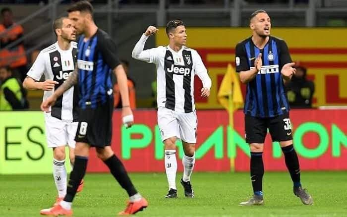 ملخص ونتيجة مباراة يوفنتوس ضد إنترميلان في بطولة الدوري الإيطالي