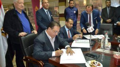 مرتضى منصور يرحب برئيس بنك مصر.. ويشكر أبورجيلة