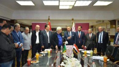 توقيع عقد إيجار محلين بسور الزمالك لبنك مصر بحق انتفاع