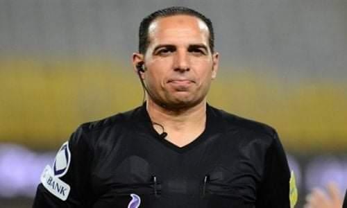 إيقاف الحكم سعيد حمزة 3 اشهر