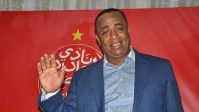 صورة سعيد الناصري يدلي بشهادته أمام المحكمة الرياضية