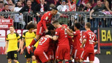 صورة ملخص مباراة بروسيا دورتموند ضد بايرن ميونيخ في الدوري الألماني