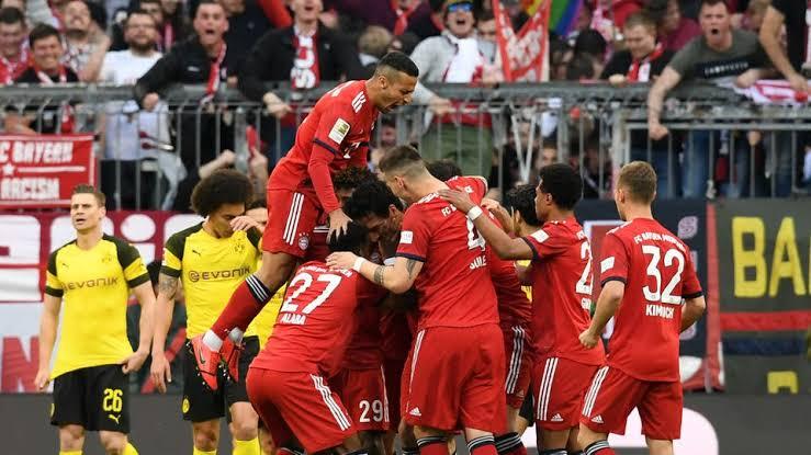 ملخص مباراة بروسيا دورتموند ضد بايرن ميونيخ في الدوري الألماني
