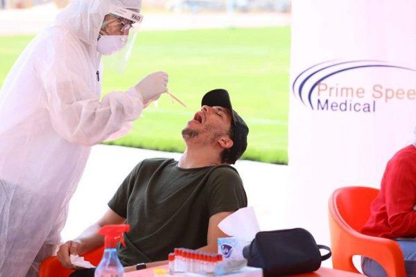 المصري البورسعيدي يعلن سلبية المسحة الثانية للاعبين والجهاز الفني