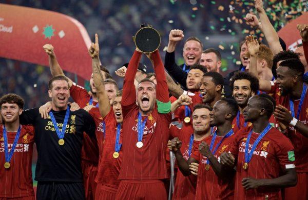 متى يتوج ليفربول رسميا بالدوري الإنجليزي