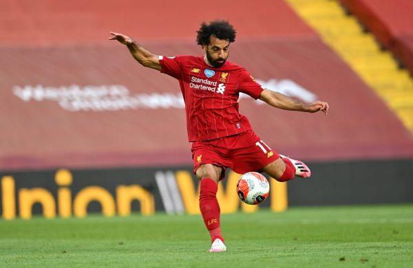 عدد أهداف محمد صلاح في الدوري الإنجليزي موسم 2019-2020