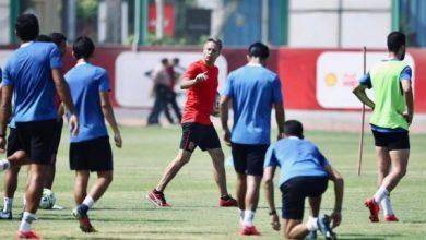 Photo of مران الأهلي.. سينا يجتمع مع اللاعبين وجلسة لصالح في الجيم