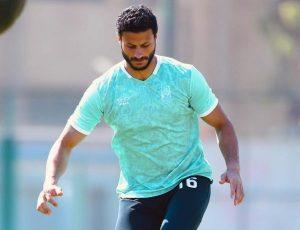مران الأهلي.. ديفيد سيزا يجتمع بمحمد الشناوي