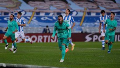 Photo of ملخص ونتيجة مباراة ريال سوسيداد ضد ريال مدريد بالدوري الإسباني