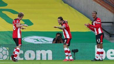أهداف مباراة نورويتش سيتي ضد ساوثهامبتون في الدوري الإنجليزي