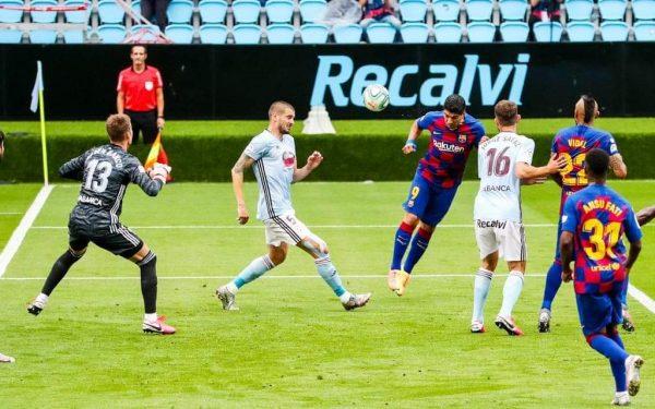 ملخص ونتيجة مباراة سيلتا فيجو ضد برشلونة في الدوري الإسباني