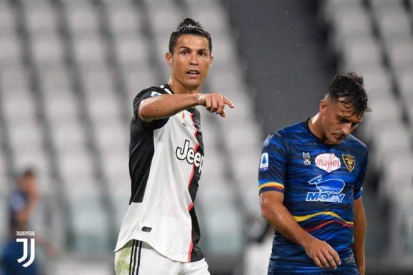 أهداف مباراة يوفنتوس ضد ليتشي في الدوري الإيطالي