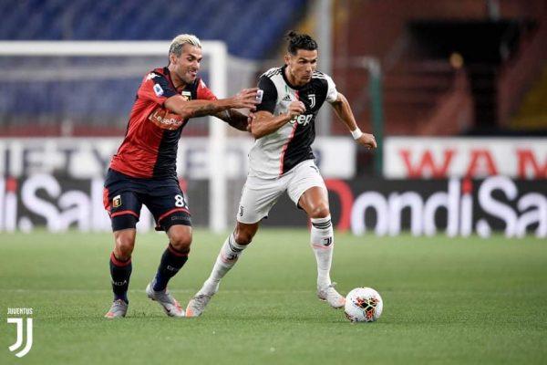 ملخص ونتيجة مباراة جنوي ضد يوفنتوس في الدوري الإيطالي