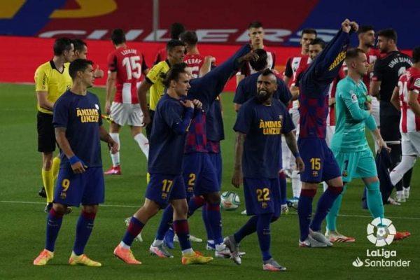 ملخص ونتيجة مباراة برشلونة ضد أتليتك بلباو