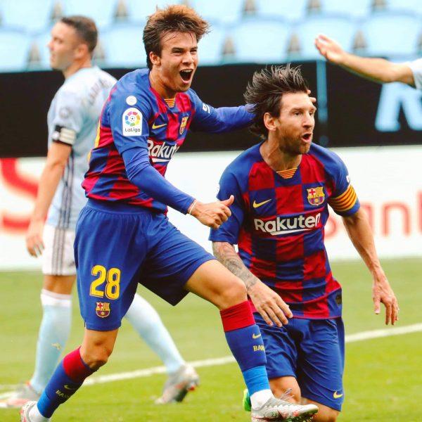 أهداف مباراة سيلتا فيجو ضد برشلونة
