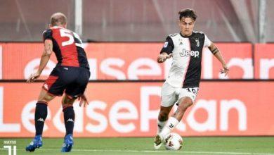 صورة أهداف مباراة جنوي ضد يوفنتوس في الدوري الإيطالي 30-6-2020