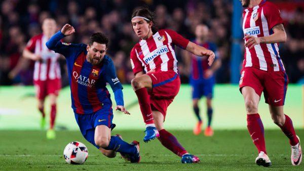 التشكيل الرسمي لمباراة برشلونة وأتلتيكو مدريد في الدوري الاسباني