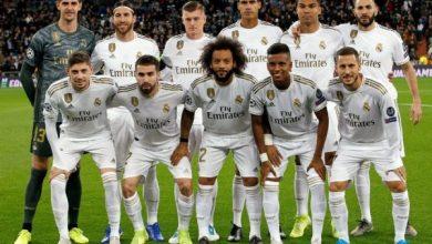 التشكيل الرسمي لمباراة ريال مدريد ضد خيتافي