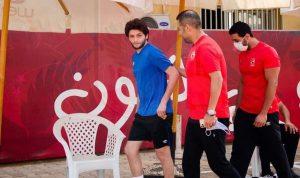 الأهلي يتابع تأهيل كريم نيدفيد وسعد سمير