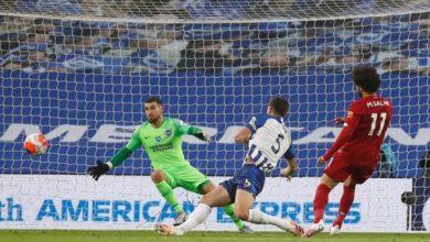 صورة ترتيب هدافي الدوري الإنجليزي بعد هدفين محمد صلاح في مباراة ليفربول وبرايتون