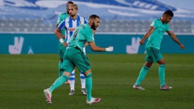 التشكيل الرسمي لمباراة ريال مدريد ضد فياريال بالدوري الإسباني