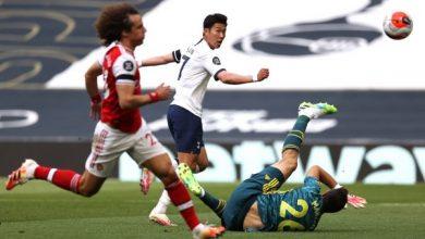 صورة نتيجة وأهداف مباراة توتنهام ضد آرسنال بالدوري الإنجليزي