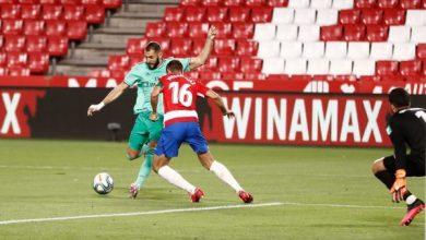 فيديو أهداف مباراة ريال مدريد ضد غرناطة بالدوري الإسباني