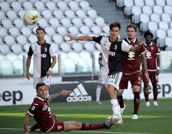 ملخص وأهداف مباراة يوفنتوس ضد تورينو في الدوري الإيطالي
