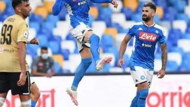 تشكيل مباراة نابولي ضد ميلان في الدوري الإيطالي
