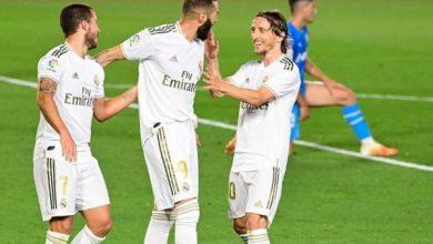 صورة ملخص ونتيجة مباراة ريال مدريد ضد ليجانيس في الدوري الإسباني
