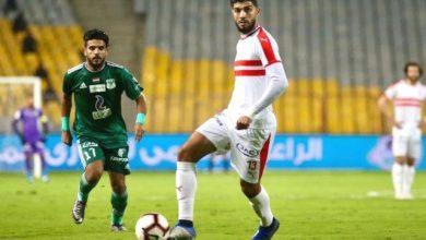 ملخص وأهداف مباراة الزمالك ضد المصري فى الدوري