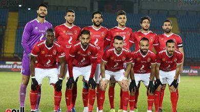 الشكيل الرسمي لمباراة الأهلي ضد المصري في الدوري