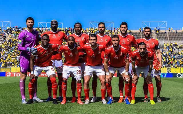 التشكيل المتوقع لمباراة الأهلي ضد إنبي في الدوري المصري