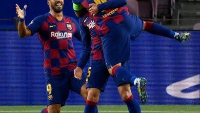 صورة ملخص وأهداف مباراة برشلونة ضد نابولي في دوري أبطال أوروبا