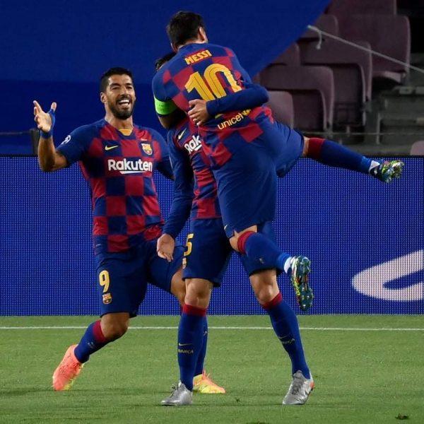 ملخص وأهداف مباراة برشلونة ضد نابولي في دوري أبطال أوروبا